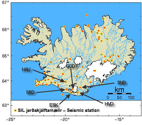 Eyja SIL Stations